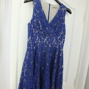 Eliza J Blue dress in Size 4